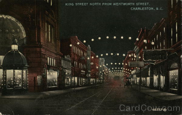 King Street North From Wentworth Street Charleston South Carolina