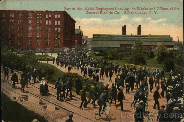 Works and Offices, General Electric Company Schenectady New York