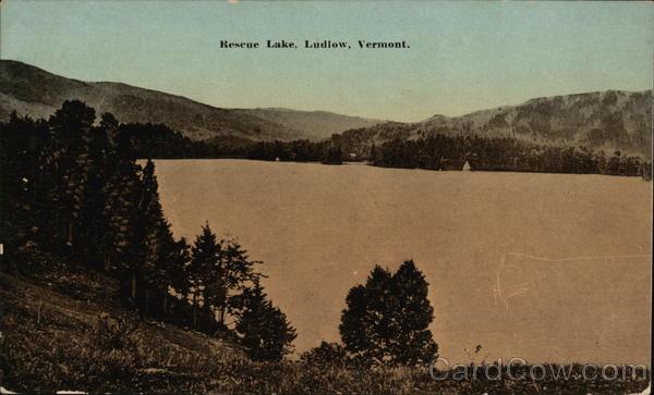 Rescue Lake Ludlow Vermont