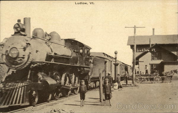Railway Station Ludlow Vermont Depots