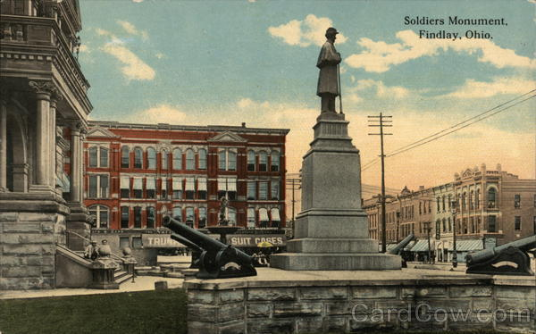 Soldiers Monument Findlay Ohio