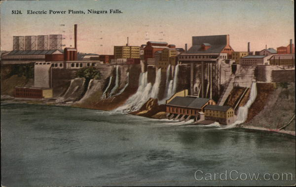 Electric Power Plants Niagara Falls New York