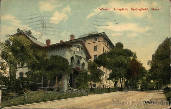 Wesson Hospital Springfield Massachusetts