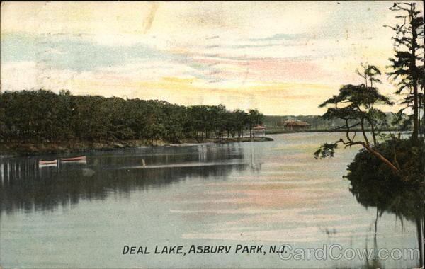 Deal Lake Asbury Park New Jersey