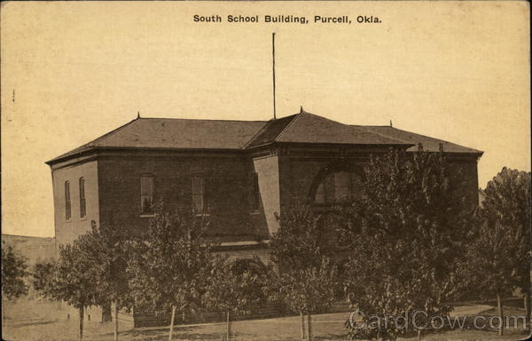 South School Building Purcell Oklahoma