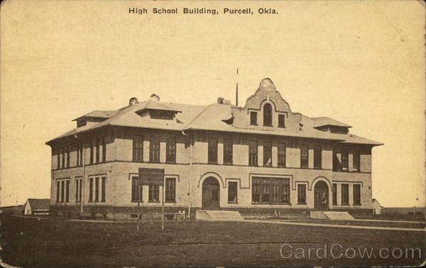 High School Building Purcell Oklahoma