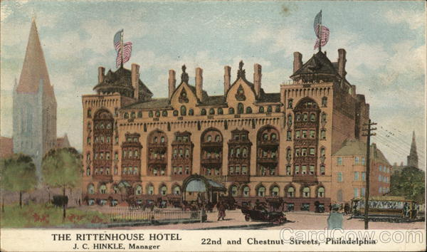 The Rittenhouse Hotel Philadelphia Pennsylvania
