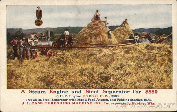 A Steam Engine and Steel Separator for $800 Farming