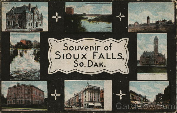 Greetings from Sioux Falls South Dakota
