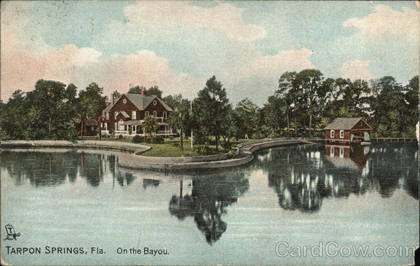 On the bayou Tarpon Springs Florida
