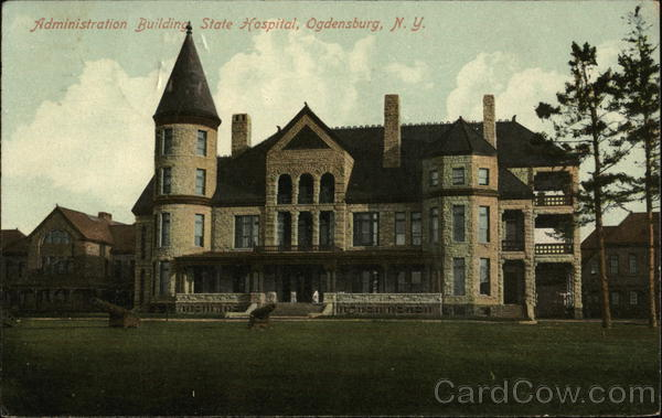 Administration Building, State Hospital Ogdensburg New York