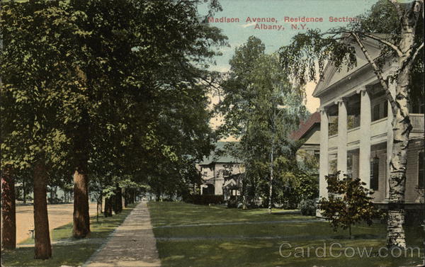 Madison Avenue, Residence Section Albany New York