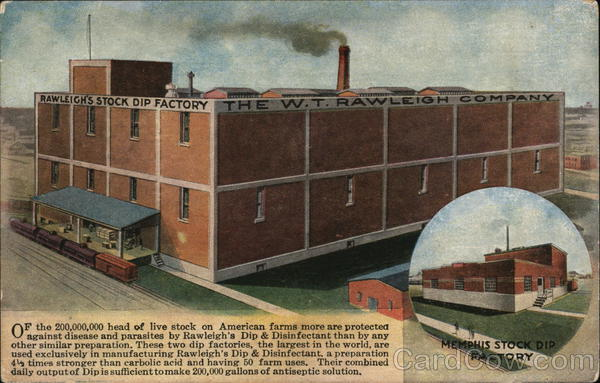 Rawleigh's Stock Dip Factory Memphis Tennessee