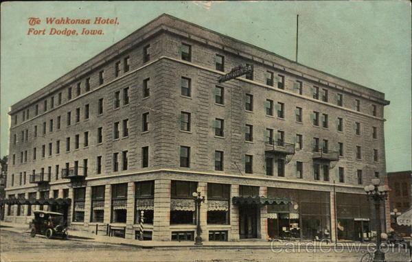 Wahkonsa Hotel Fort Dodge Iowa
