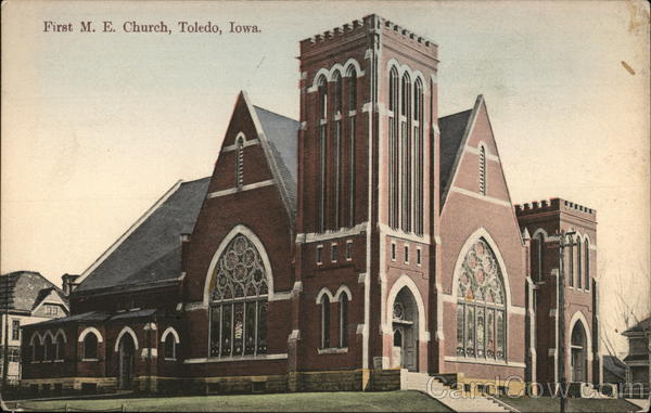 First M. E. Church Toledo Iowa
