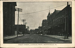 First Street, Looking West