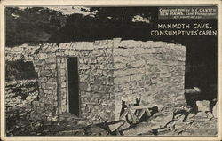 Mammoth Cave - Consumptives' Cabin