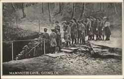 Mammoth Cave, going in