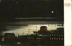 Moonlight on New Bedford Harbor