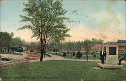 Passaic Park showing Erie R.R.