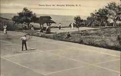 Tennis Court, Mt. Mongola