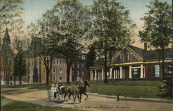 St. Johnsbury Academy - South Hall and Principals Residence