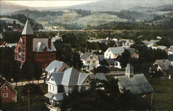 View of Town showing Black River Academy