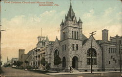 First Christian Church and Munroe Street