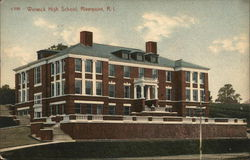 Warwick High School, Riverpoint Postcard