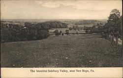 The beautiful Solebury Valley, near New Hope