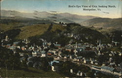 Bird's-Eye View of City, Looking North