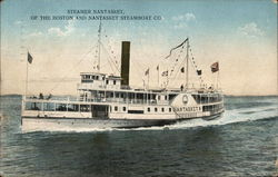 Steamer Nantasket of the Boston and Natasket Steamboat Co.Circle 1912