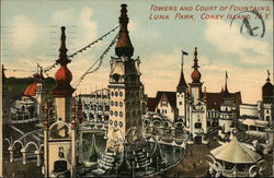 Towers and Court of Foundains, Luna Park