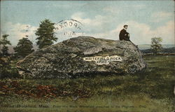 Whitefield Rock Postcard