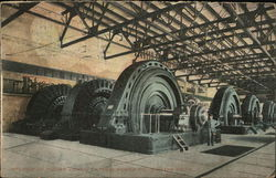 Interior of Power House, Ontario Power Company