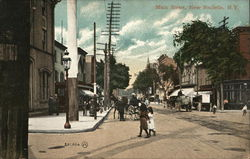 Main Street, New Rochelle, NY early 1900's