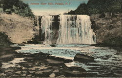 Salmon River Falls Postcard