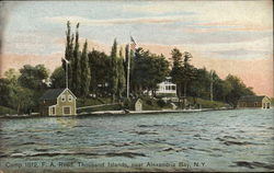 Camp 1812, F.A. Road, Thousand Islands near Alexandria Bay