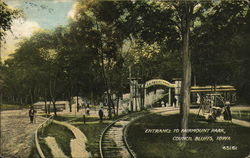 Entrance to Fairmount Park