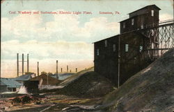 Coal Washery and Suburban, Electric Light Plant