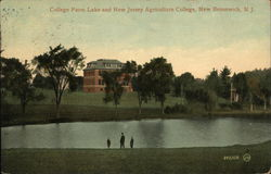 College Farm Lake and New Jersey Agricultural College