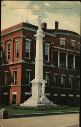 Confederate Monument and Court House