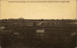 Longest Wagon Bridge in the World, Crossing South Canadian River