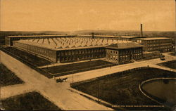 Bird's eye view showing Dan River Cotton Mills