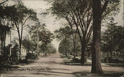 E. on Wilmette Avenue, Wilmette, IN. Circa 1909