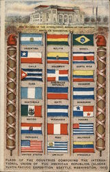 Flags - Countries Composing the International Union of the American Republics