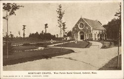 Mortuary Chapel. West Parish Burial Ground