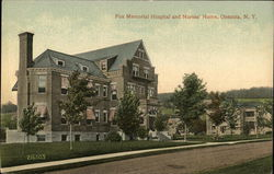 Fox Memorial Hospital and Nurse's Home