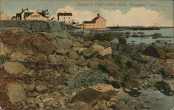 Stonington Point Looking north, Stonington, Conn. Circa 1913