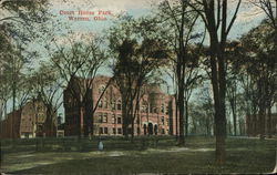 Court House Park Postcard